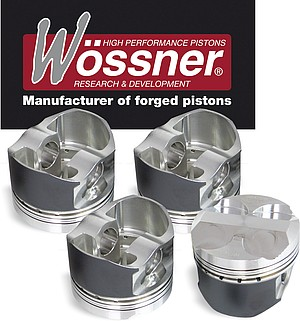 Wössner forged pistons & connecting rods