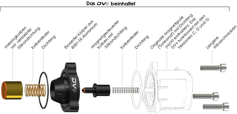 GFB DV+ T9351 Aufbau