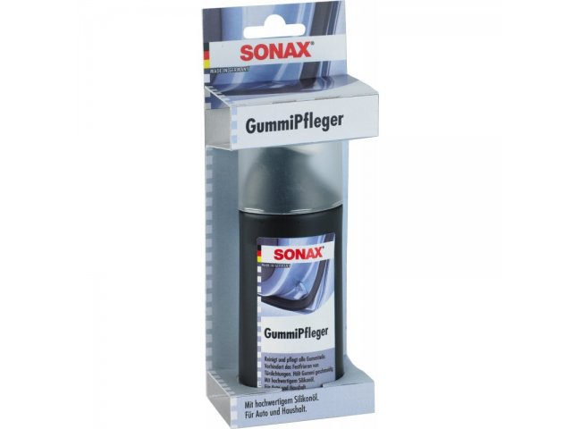 SONAX GummiPfleger - 100 ml Blister-Packung (SONAX 03400000)
