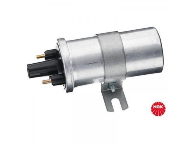 Coil, ignition NGK U1080 for Audi, Wartburg, VW, Seat (e.g. for Polo MK2 G40, G60, ...) (NGK 48343)