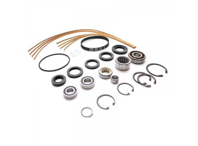 Large Servicekit for G60-Supercharger (incl. sealstrips + oil seal rings + set of bearings + wide toothed belt + small items)