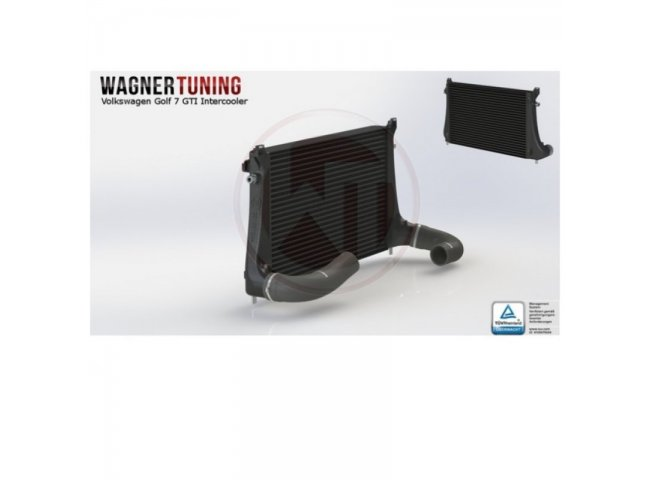 Intercooler Kit *Competition* VAG 1,8-2,0TSI for e.g. VW Golf MK7 GTI/R, Audi A3/S3 (from WagnerTuning)