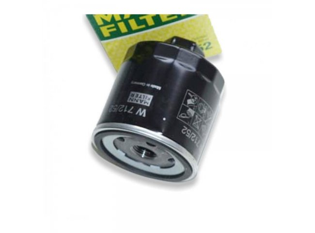 Filter, �lfilter W712/52 (u.a. f�r Polo G40)