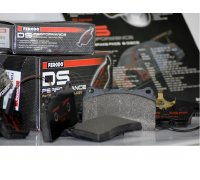 Brake Pads (set), Ferodo DS Performance sport brake pads, e.g. for VW Polo G40, Golf 1 GTI + 2 GTI (Ferodo FDS392)