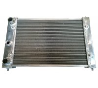 Radiator for Polo G40 MK3 (86C) for G60- & turbo conversions with higher cooling capacity - Made of aluminum (for year 1990-1994)