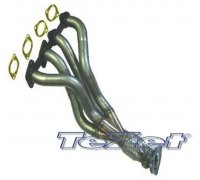 TeZet stainless steel exhaust header for VW Golf 3 16V