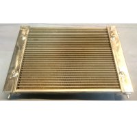 Radiator for Polo G40 MK3 (86C) for G60- & turbo conversions with higher cooling capacity - Made of aluminum (for year 1986-1989)