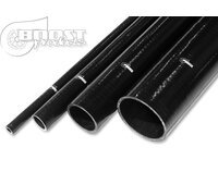 BOOST products Silicone Hose 89mm, 1m Length, black