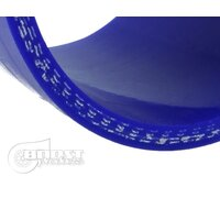 BOOST products Silicone Connector with double Hump, 102mm, blue