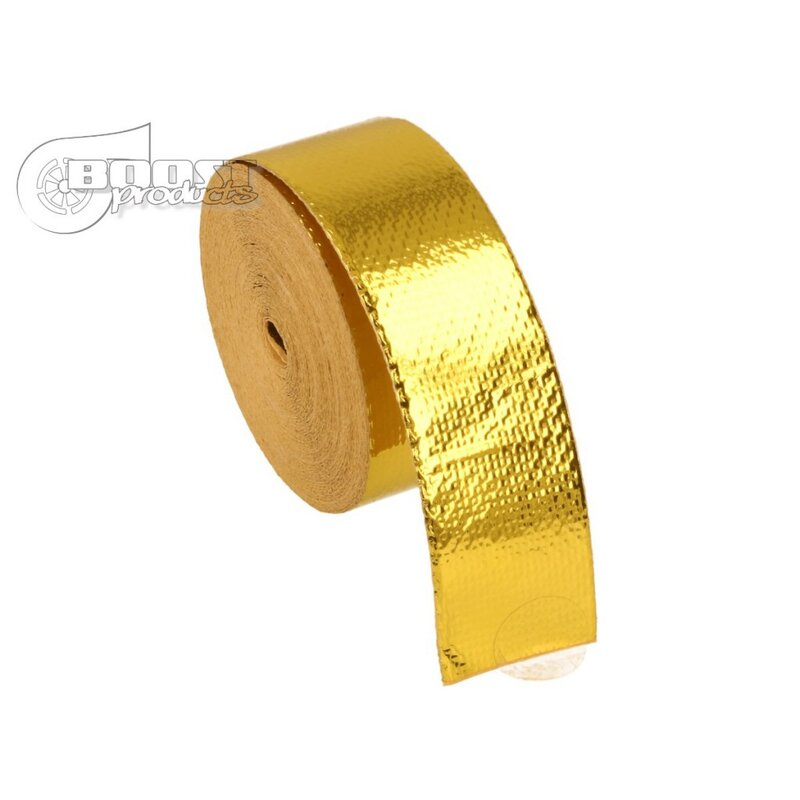 BOOST products 10m Heat Protection Tape - Gold - 25mm wide