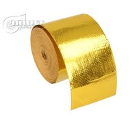 BOOST products 10m Heat Protection Tape - Gold - 50mm wide
