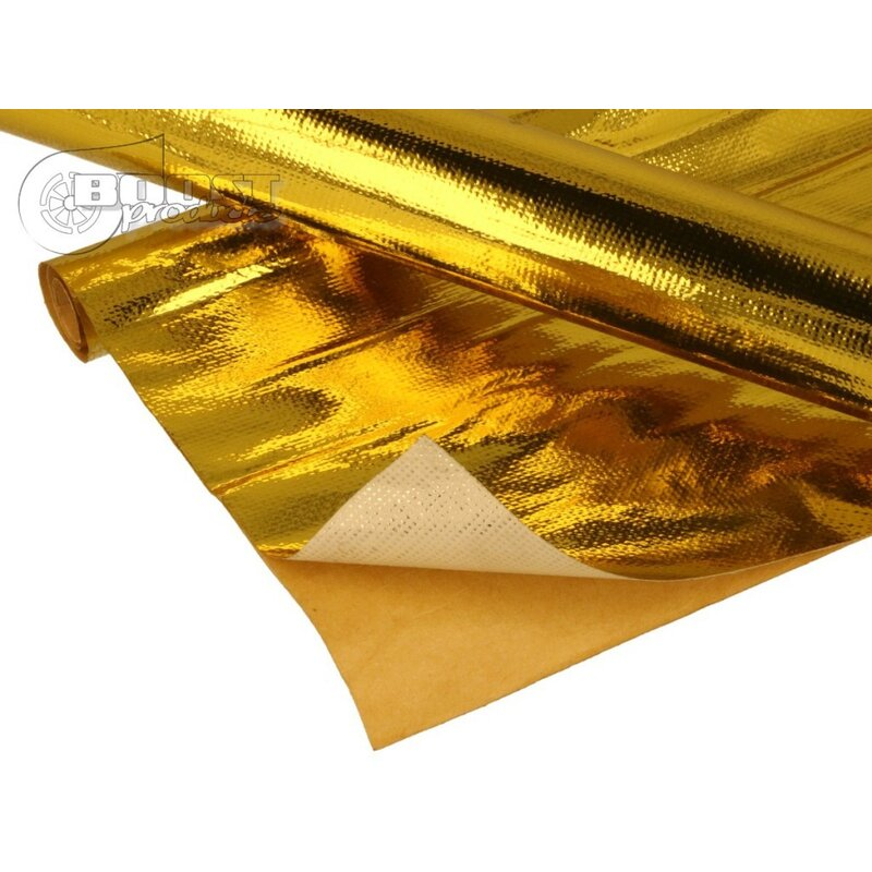 BOOST products Hitzeschutz - Matte Gold - 30x30cm