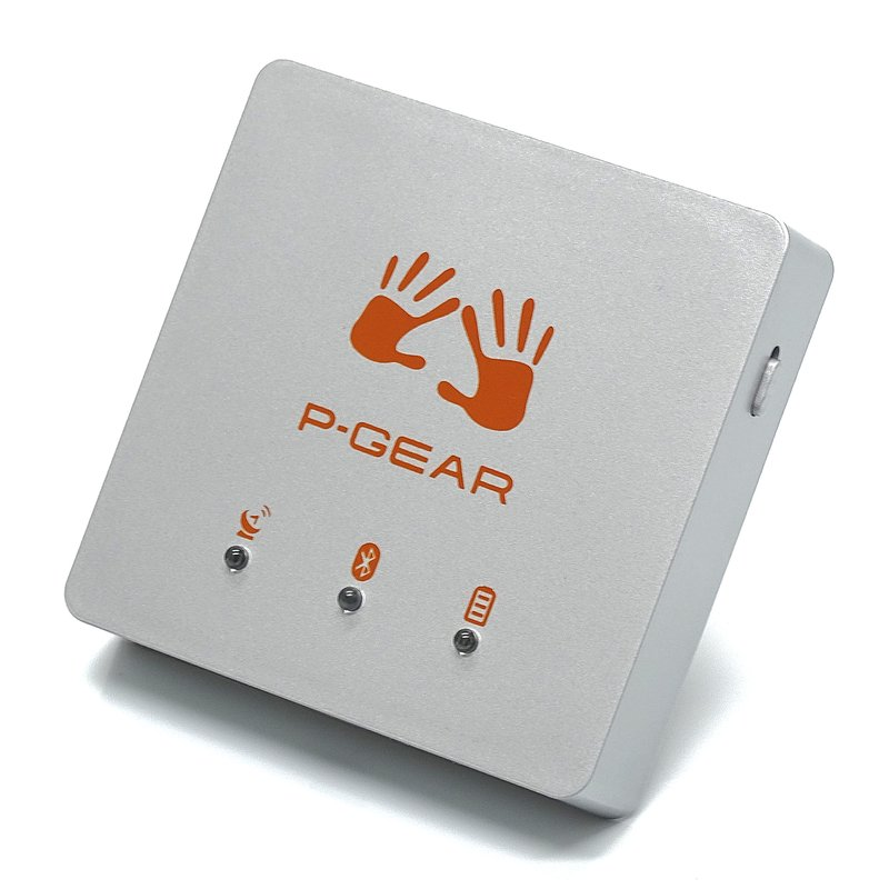 P-Gear P600 GPS lap timer and chronometer with social media ranking with 10 Hz - Europe Edition