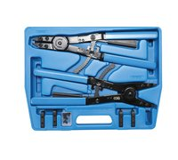 BGS Circlip Pliers Set | for Trucks / Commercial Vehicles | Exchangeable Tips | 400 mm (BGS 478)