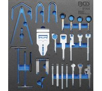 BGS Radio Removal Tool Set | 52 pcs. (BGS 9144)