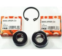 Set of bearings for auxiliary shaft for all...