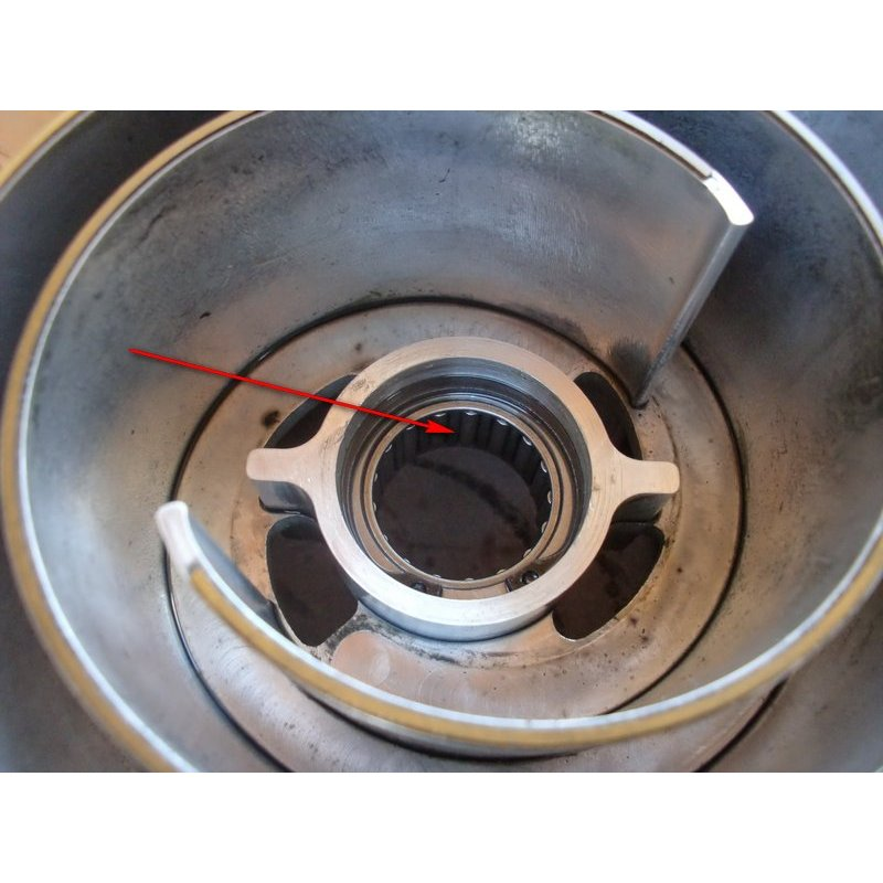 Displacer bearing (Cylindrical roller bearing) for G60-Supercharger (Torrington 10-6879A)