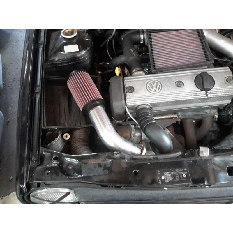 RS air intake system with K&N air filter for VW Polo G40