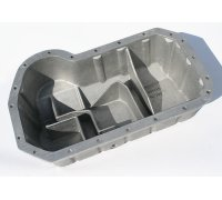 Cast Aluminium Oil Pan for G60 & 16V (Schrick 001411071) incl. oil windage tray with a include sealing