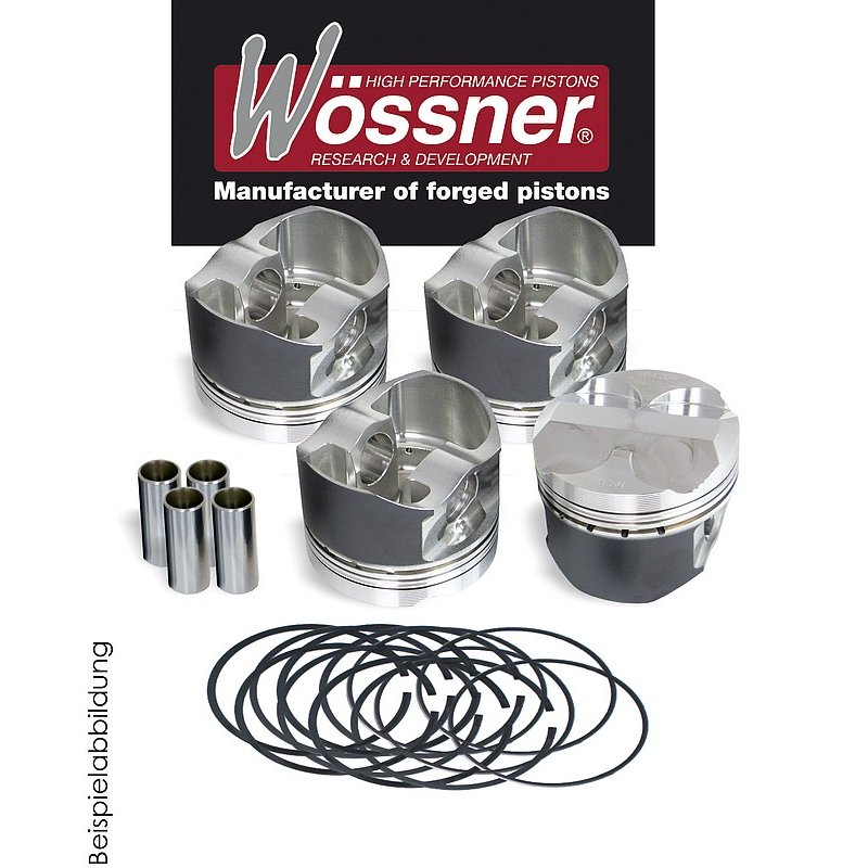 Wössner forged piston for C2 VTS, 1,6L, 16V, Kit Car (Motorcode: TU5JP4 - Displ.: 1594 cm³)