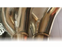 Start-Up stainless steel exhaust header from TeZet for Golf III + (1991-1997 / 2,8 VR6 (128kw))