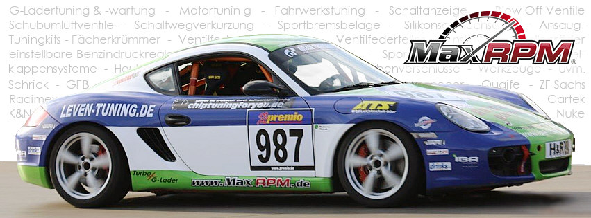 MaxRPM is the official sponsor and supplier of the racing team WS Racing